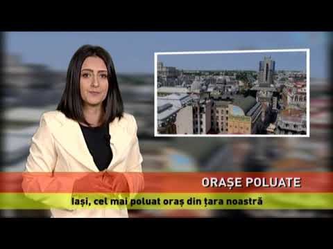 22 de orașe din România, în topul mondial al poluării