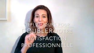 Vidéo 2/21: doubler votre motivation