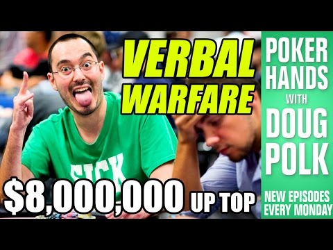Poker Hands - Can Will Kassouf Talk His Way Out Of THIS One? (2016 WSOP Main Event)