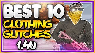 "GTA 5 Online TOP 10 WORKING CLOTHING GLITCHES 1.40! GTA 5 Top 10 Clothing Glitches After Patch 1.40 For Xbox One, Ps4, PC! ♛ (1st & 4th) DIRECTOR - JoshMods ► http://bit.ly/SubToJoshMods ◄♛ (2nd) DIRECTOR - Game Time Live ► http://bit.ly/SubToGameTimeLive ◄ ♛ (3rd) DIRECTOR - Rizeou ► https://www.youtube.com/channel/UCEPdvKcJAE4e4_nHNsqqocQ ◄►ROAD TO 150K! Join the #PrestigeFam and Subscribe! ✔🔔👆Turn on Post Notifications👆🔔✔ http://bit.ly/SubToPmHD► The Prestige Community WEBSITE - Submit videos, Cheap GFX & More! http://prestigecommunity.weebly.com/ GTA 5 Top 10 Clothing Glitches 1.40 features:1. GTA 5 Invisible Arms Glitch 1.402. GTA 5 Any Hat and Mask Glitch (GTA 5 Hat and mask Glitch 1.40) 3. GTA 5 Tron Outfit 1.40: Free Tron Outfit Glitch 1.40 (How to get the tron / deadline outfit for free after patch 1.404. GTA 5 Duffel Bag Glitch 1.40 (How to Get the black duffel bag after patch 1.40)5 GTA 5 Camo Joggers Glitch (Colored Joggers Glitch 1.40)6. GTA 5 Transfer Duffel Bag Glitch 1.40And More!▬▬▬▬▬▬▬▬▬ஜ۩♛ DOPE GFX, INSTANT GTA CASH & RANK,  COD RECOVERIES AND MORE!  ♛۩ஜ▬▬▬▬▬▬▬▬▬★ For Cheap, Reliable GTA V Accounts and INSTANT GTA Cash + Rank: ​https://goo.gl/PPD27p ★ For Cheap Games, Call of Duty Modded Accounts and Recoveries, In-game items, gaming accessories and more! https://goo.gl/rvjMQK Use code - 'PMHD' for 5% OFF!★ Need Intros or GFX? Buy Cheap Professional Designs from PrestigeStudios! (My team) http://prestigecommunity.weebly.com/gfx-shop.html▬▬▬▬▬▬▬▬▬ஜ۩♛ Join The Prestige Community ♛۩ஜ▬▬▬▬▬▬▬▬▬▼ Want to be Featured on PmHD? ▼Subscribe and Submit your Glitches, Tips and Tricks videos to our website! http://prestigecommunity.weebly.com/submit-your-videos--contact.htmlTwitter: https://twitter.com/PrestigeMontageFB: http://bit.ly/PmHDFBSubscribe: https://www.youtube.com/c/PmHD?sub_confirmation=1♛ Subscribe to our Prestige Channels ♛PmHD (100K+ GTA): https://www.youtube.com/c/PmHD?sub_confirmation=1PrestigeGaming (15K+ Gaming): https://bitly.com/SubPrestigeGamingPrestigeMusick (8K Music): http://www.youtube.com/PrestigeMusick?sub_confirmation=1  ▬▬▬▬▬▬▬▬▬ஜ۩♛ INTRO SONG ♛۩ஜ▬▬▬▬▬▬▬▬▬My Music channel: https://www.youtube.com/user/PrestigeMusick  Intro song - https://www.youtube.com/watch?v=ZeLeAgQ_DtoOutro Song - https://www.youtube.com/watch?v=BbZP3zCLBrM▬▬▬▬▬▬▬▬▬ஜ۩♛ 10 Popular GTA 5 Online GunRunning DLC Glitches Not to Miss! ♛۩ஜ▬▬▬▬▬▬▬▬▬► GTA 5 Online TOP 10 GLITCHES 1.40! (NEW) 10 BEST WORKING GLITCHES GTA 5 1.40 (Top 10 Glitches 1.40) http://youtu.be/NeCoPZe9SKk► GTA 5 Online TOP 10 CLOTHING GLITCHES 1.40! NEW BEST 10 GUNRUNNING Outfit Glitches! Top 10 Glitches 1.40 http://youtu.be/w-VCsr8F7gM► GTA 5 Online TOP 5 GLITCHES 1.40! (NEW) FREE $30,000,000 GLITCH, 100% INVISIBLE BODY, RARE CLOTHING! http://youtu.be/-g17pseXp7E ► GTA 5 Online TOP 5 CLOTHING GLITCHES 1.40! *NEW* DIRECTOR MODE GLITCH 1.40, RARE JOGGERS, INVISIBLE ARMS! http://youtu.be/7tBluIaowgk► FINALLY! GTA 5 Online ''XBOX ONE'' & PS4 DIRECTOR MODE GLITCH 1.40! SOLO GTA 5 ''Money Glitch 1.40'' http://youtu.be/r-YbkDu1r-k► GTA 5 CHECKERED OUTFIT GLITCH 1.40! (NEW) SOLO 'CHECKERBOARD OUTFIT' TUTORIAL GTA 5 Online 1.40 https://www.youtube.com/watch?v=63XipThzvAY► OMG! NEW $10,000,000 /HR ''SOLO'' MONEY GLITCH! GTA 5 Online 1.40 *SOLO* ''UNLIMITED MONEY GLITCH'' http://youtu.be/8Ev84bLKHYE► GTA 5 GUNRUNNING GLITCHES 1.40! *NEW* MILITARY ''MODDED OUTFIT GLITCH 1.40'' (Clothing Glitches 1.40) http://youtu.be/dtMbuEDpvP8► GTA 5 Online TOP 3 MODDED OUTFITS 1.40! GUNRUNNING Modded Outfit Glitches Using Clothing Glitches! https://www.youtube.com/watch?v=jjUQeyxYwp0▬▬▬▬▬▬▬▬▬ஜ۩♛ A Personal Note From Xav ♛۩ஜ▬▬▬▬▬▬▬▬▬ Hey #PrestigeFam! Thanks for watching guys! Help us reach 150,000 Subscribers by rating the videos and leaving feedback! Subscribe if you're new here for the best and latest Gaming Glitches, tips and tricks! Stay tuned, Stay Prestige ✌️✌️#PrestigeFam #PrestigeCommunity-Xav, PmHD♛ Fair Use Disclaimer:♛ COPYRIGHT DISCLAIMER UNDER SECTION 107 OF THE COPYRIGHT ACT 1976 - Copyright Disclaimer Under Section 107 of the Copyright Act 1976, allowance is made for ""fair use"" for purposes such as criticism, comment, news reporting, teaching, scholarship, and research. Fair use is a use permitted by copyright statute that might otherwise be infringing. Non-profit, educational or personal use tips the balance in favor of fair use"