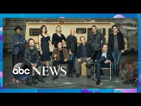 'Breaking Bad' cast celebrates 10-year reunion