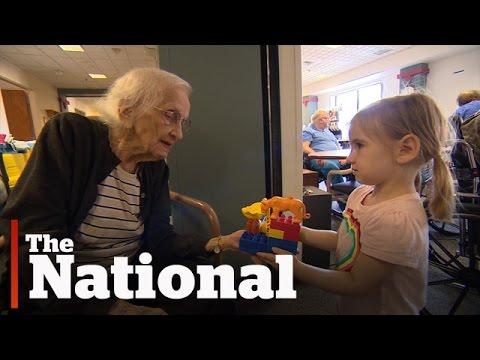 Hieno ajatus – Lastentarha ja vanhainkoti samassa rakennuksessa