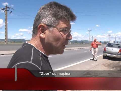 """""""Zbor"""" cu mașina"""