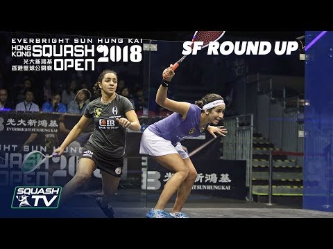 Squash: Women's Semi-Final Roundup - Hong Kong Open 2018