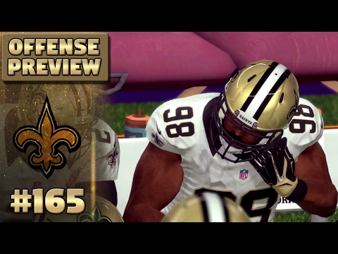 Offense Preview (S4) | Madden NFL 17 New Orleans Saints Franchise Ep. 165