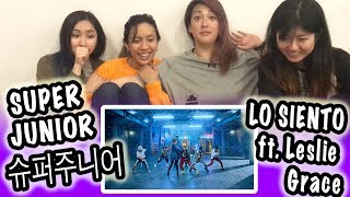 Video [KPOP REACTION] SUPER JUNIOR 슈퍼주니어 -- LO SIENTO (feat. LESLIE GRACE) MP3, 3GP, MP4, WEBM, AVI, FLV April 2018