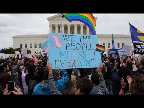 U.S. Supreme Court divided over gay, transgender employment protection