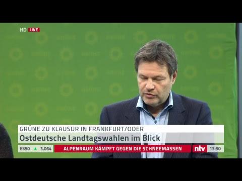 Pressekonferenz: Grüne beenden ihre Jahresauftakt-Kla ...