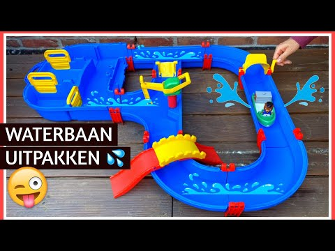 AquaPlay MegaBridge waterbaan 💦 uitpakken | Family Toys Collector