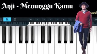 Video Anji - Menunggu Kamu ( simple piano ) MP3, 3GP, MP4, WEBM, AVI, FLV Juli 2018