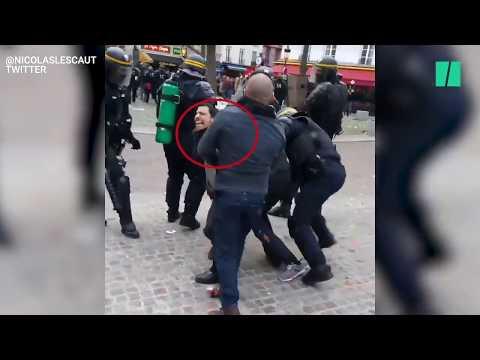 Video - Υπό κράτηση ο πρώην σωματοφύλακας του Μακρόν