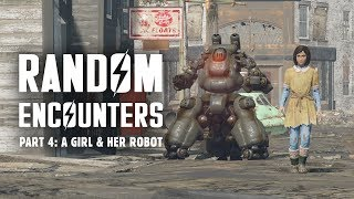 Video Random Encounters of Fallout 4 Part 4: A Girl & Her Robot - Plus Many More MP3, 3GP, MP4, WEBM, AVI, FLV Juli 2018