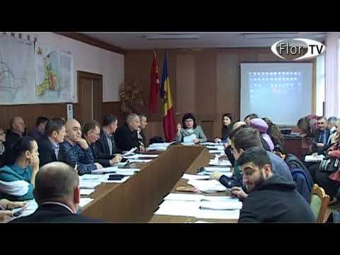 Sedința a Consiliului orașenesc Florești din 30 11 2017