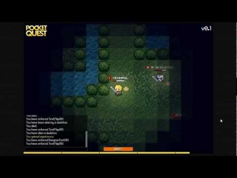 HTML5 Online-RPG - Development Update