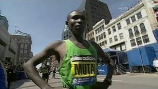 Mutai wins 2011 Boston Marathon in record 2:03:02 - from Universal Sports