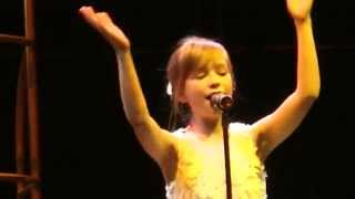 Connie Talbot - Run - Rolling in the Deep - Live at the O2 Arena London -  8th March, 2012