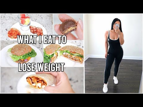 How to lose weight - What I Eat In A Day to LOSE WEIGHT - How I Lost 38 lbs