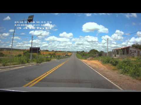 REGIÃO NORDESTE SENTIDO SUDESTE( BA-026, BEM VINDO A NOVA ITARANA BAHIA) 17 PARTE!!