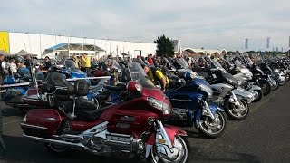 La Teste-de-Buch France  City new picture : Goldwing club de France - Parade des Nations / La Teste de Buch 2016 (part 1)