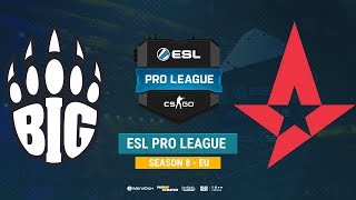 BIG vs Astralis - ESL Pro League EU - bo1 - de_train [ceh9, MintGod]