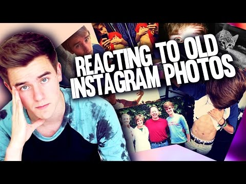 Reacting To Old Instagram Photos