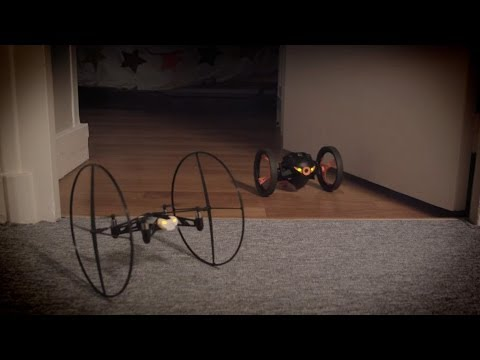 Parrot Mini Drone and Jumping Sumo