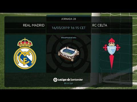 Calentamiento Real Madrid vs RC Celta - Thời lượng: 1 giờ, 8 phút.