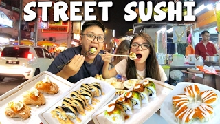 Video Makan Sushi Pinggir Jalan !!! MP3, 3GP, MP4, WEBM, AVI, FLV Maret 2018