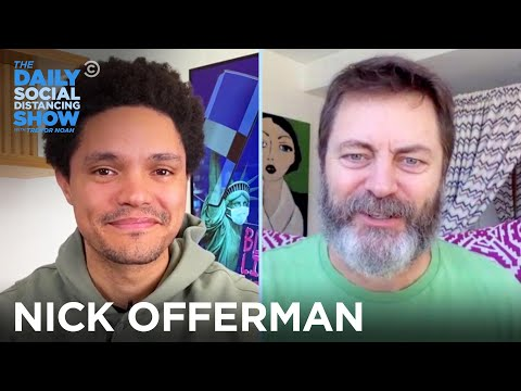 Nick Offerman - Why Ron Swanson Is a Political Conundrum | The Daily Social Distancing Show
