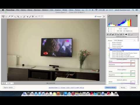 Rozwiązujemy problem z kolorami przy wywoływaniu plików RAW - poradnik wideo