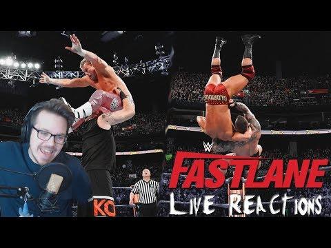WWE FASTLANE 2018 - Live Reactions! | FREUDE und ENTTÄUSCHUNG?! | German/Deutsch | REUPLOAD!