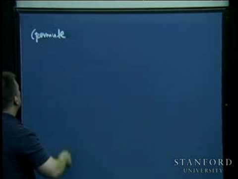 Lecture 22   Programming Paradigms (Stanford)
