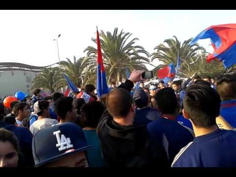 Video - Los de Abajo en Parque La Bandera - Los de Abajo - Universidad de Chile - La U - Chile