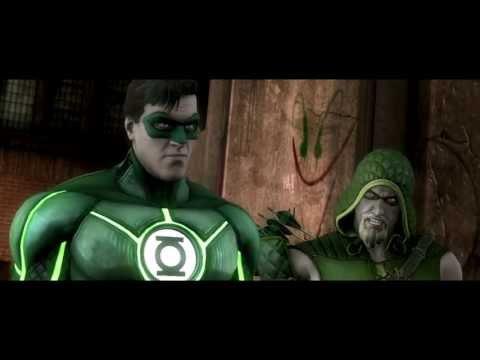 Injustice: Gods Among Us Green Lantern Character Video