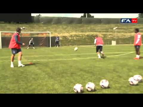 Great Soccer Shooting Practice Drill – England U21