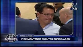Contraloría solicitó al MEF mantener congelamiento de cuentas del Gobierno Regional del Callao (Canal N)