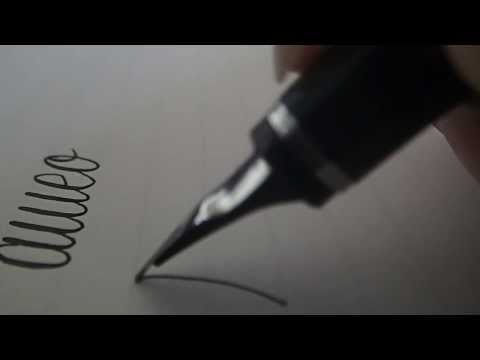 Fountainpen (Fountain pen) Writing