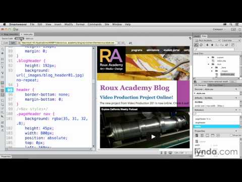 Dreamweaver CC And Wordpress Tutorial #34 Changing Headers By Category