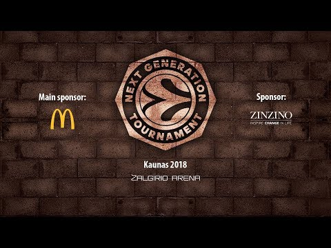 EB ANGT Kaunas: U18 Zalgiris 83-76  U18 Khimki - Full Game