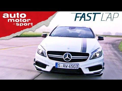 Mercedes-AMG A45: Kann´s die A-Klasse noch? - Fast Lap  ...
