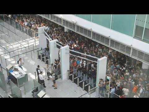 Münchner Flughafen: Chaos nach Polizeieinsatz