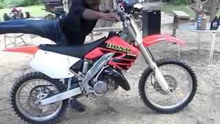 9. 2001 Honda cr125r