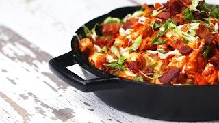 Buffalo Chicken Totchos by Tasty