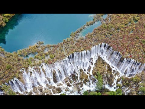 Live: China's widest waterfall – Ep. 4 九寨诺日朗瀑布如银河飞泻