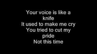 Christina Aguilera- Empty Words (Lyrics on Screen)+Full Song