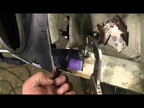 1973 Porsche 914 – R Front panel repair Part 2