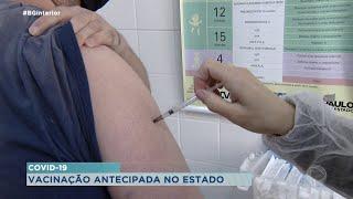 Estado de São Paulo antecipa calendário de vacinação