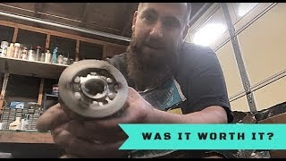2. YZ250 Flywheel Weight Review