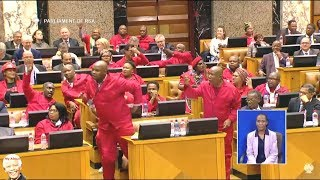 "Julius Malema ""I Want To Vote A Criminal Out"""