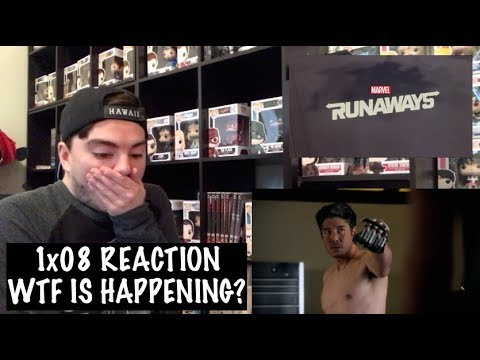 RUNAWAYS - 1x08 'TSUNAMI' REACTION